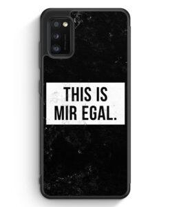 Samsung Galaxy A31 Silikon Hülle - This Is Mir Egal
