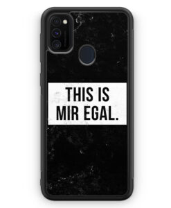 Samsung Galaxy M21 Silikon Hülle - This Is Mir Egal