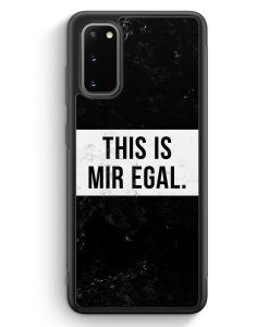 Samsung Galaxy S20 Silikon Hülle - This Is Mir Egal