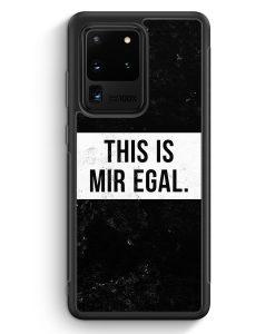 Samsung Galaxy S20 Ultra Silikon Hülle - This Is Mir Egal