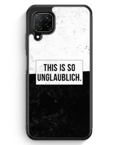 Huawei P40 lite Silikon Hülle - This Is So Unglaublich