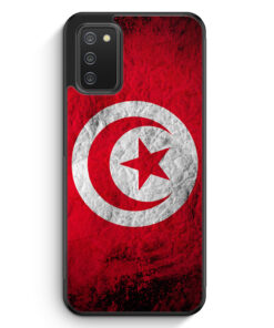 Tunesien Splash Flagge - Silikon Hülle für Samsung Galaxy A02s