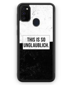 Samsung Galaxy M21 Silikon Hülle - This Is So Unglaublich