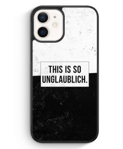 iPhone 12 mini Silikon Hülle - This Is So Unglaublich