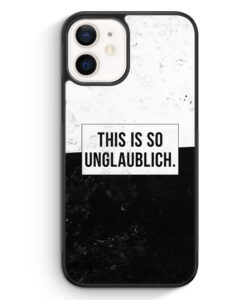iPhone 12 Silikon Hülle - This Is So Unglaublich