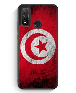 Huawei P Smart 2020 Silikon Hülle - Tunesien Splash Flagge
