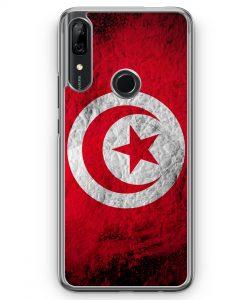 Huawei P Smart Z Hülle - Tunesien Splash Flagge