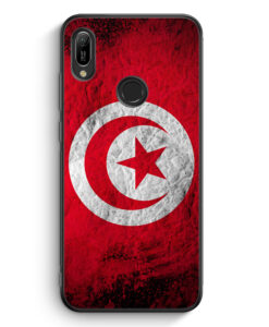Huawei Y6s Silikon Hülle - Tunesien Splash Flagge