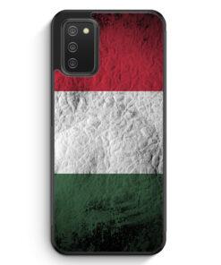 Ungarn Splash Flagge - Silikon Hülle für Samsung Galaxy A02s