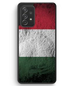 Ungarn Splash Flagge - Silikon Hülle für Samsung Galaxy A32