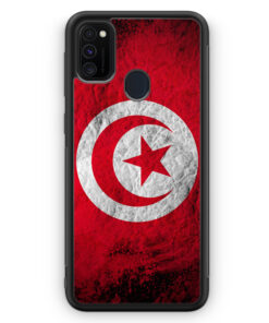 Samsung Galaxy M21 Silikon Hülle - Tunesien Splash Flagge