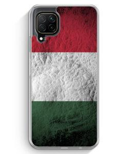 Huawei P40 lite Hülle - Ungarn Splash Flagge
