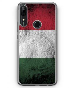 Huawei P Smart Z Hülle - Ungarn Splash Flagge
