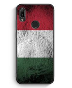 Huawei Y6s Silikon Hülle - Ungarn Splash Flagge