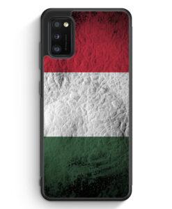 Samsung Galaxy A41 Silikon Hülle - Ungarn Splash Flagge