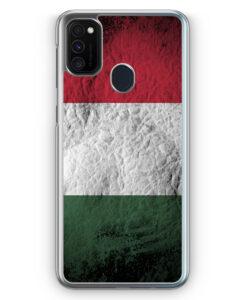 Samsung Galaxy M21 Hülle - Ungarn Splash Flagge