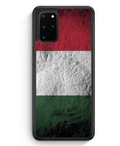 Samsung Galaxy S20+ Plus Silikon Hülle - Ungarn Splash Flagge