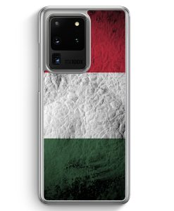 Samsung Galaxy S20 Ultra Hülle - Ungarn Splash Flagge