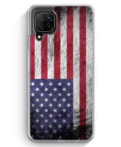 Huawei P40 lite Hülle - USA Amerika Splash Flagge