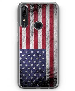 Huawei P Smart Z Hülle - USA Amerika Splash Flagge