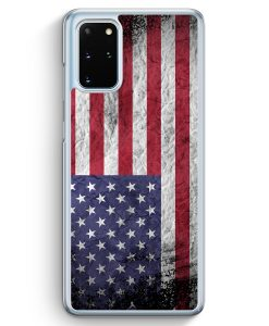 Samsung Galaxy S20+ Plus Hülle - USA Amerika Splash Flagge