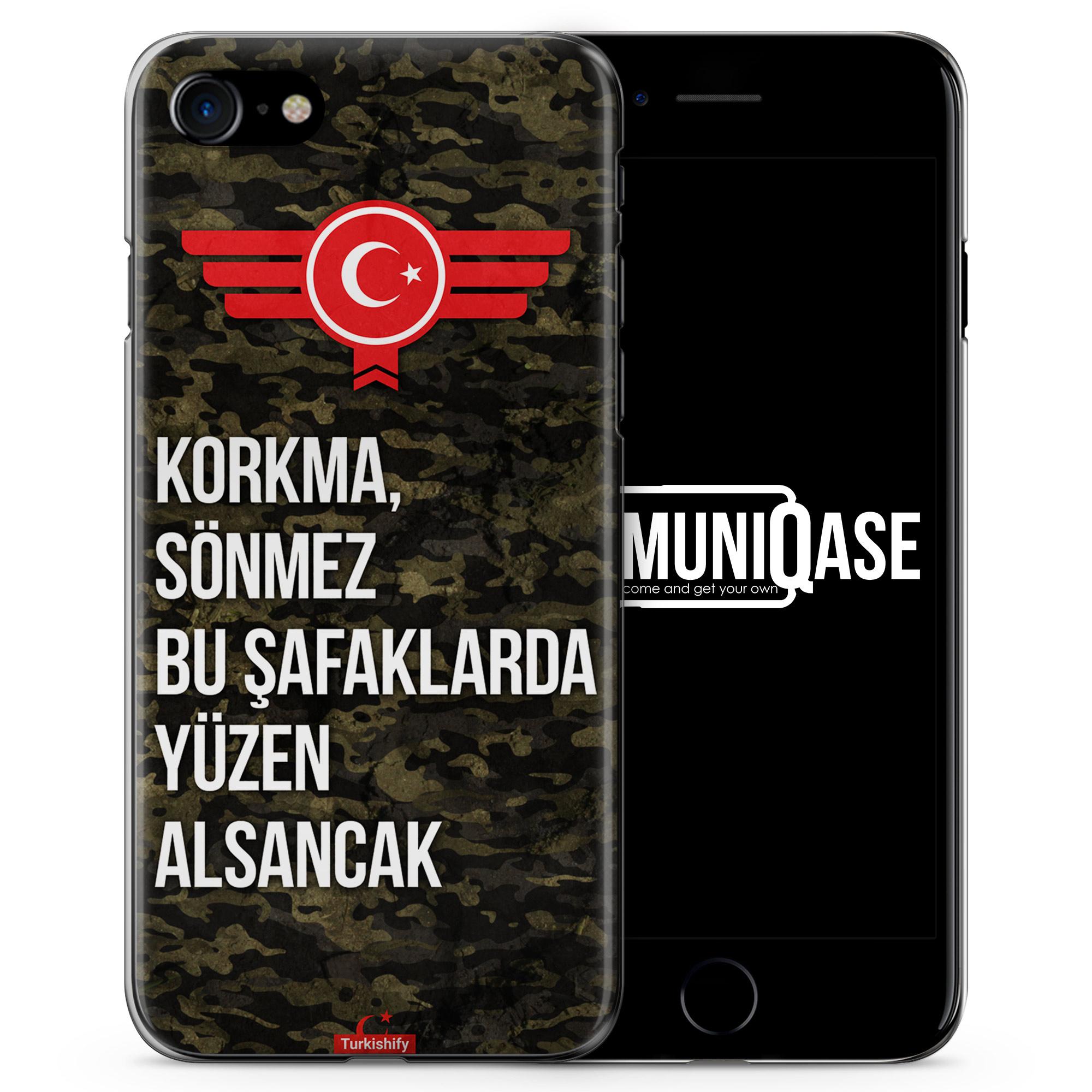 Korkma Sönmez Türkiye Türkei Camouflage - Slim Handyhülle für iPhone 7