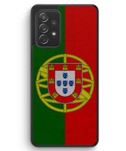 Portugal Flagge Neu - Silikon Hülle für Samsung Galaxy A32