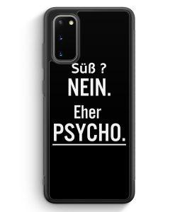 Samsung Galaxy S20 Silikon Hülle - Süß ? Ne Eher Psycho