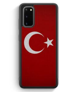 Samsung Galaxy S20 FE Silikon Hülle - Türkiye Turkey Türkei Neu Flagge