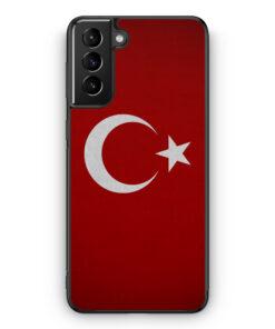 Samsung Galaxy S21 Silikon Hülle - Türkiye Turkey Türkei Neu Flagge