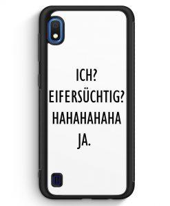 Samsung Galaxy A10 Silikon Hülle - Ich? Eifersüchtig? Hahaha Ja