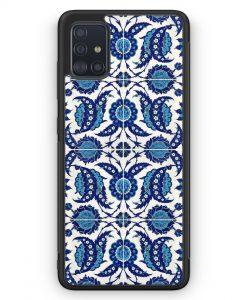 Samsung Galaxy A51 Silikon Hülle - Iznik Muster Orientalisch #02