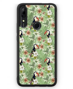 Huawei P Smart Z Silikon Hülle - Tukan Muster Tropisch