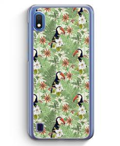 Samsung Galaxy A10 Hülle - Tukan Muster Tropisch