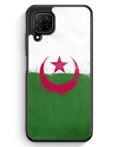 Huawei P40 lite Silikon Hülle - Algerien Algeria Grunge