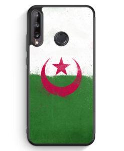 Huawei P40 lite E Silikon Hülle - Algerien Algeria Grunge