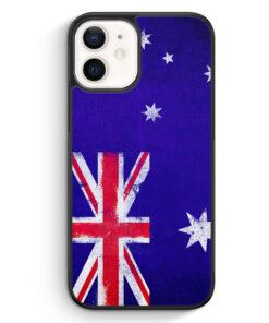 iPhone 12 mini Silikon Hülle - Australien Grunge Australia