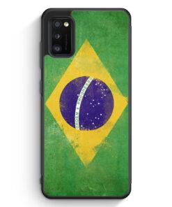 Samsung Galaxy A41 Silikon Hülle - Brasilien Grunge Brasil Brazil