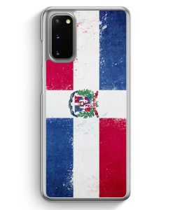Samsung Galaxy S20 Hülle - Dominikanische Republik Grunge Dominican Republic