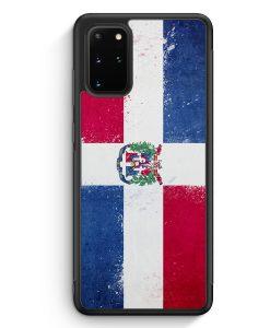 Samsung Galaxy S20+ Plus Silikon Hülle - Dominikanische Republik Grunge Dominican Republic