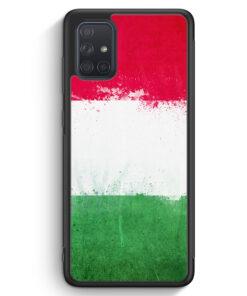 Samsung Galaxy A71 Silikon Hülle - Italien Grunge Italy Italia