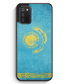 Kasachstan Grunge Kazakhstan Qasaqstan - Silikon Hülle für Samsung Galaxy A02s