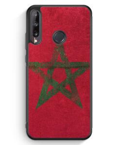 Huawei P40 lite E Silikon Hülle - Marokko Grunge Morocco