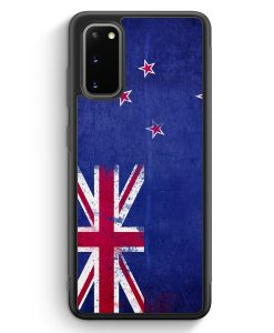 Samsung Galaxy S20 Silikon Hülle - Neuseeland Grunge New Zealand