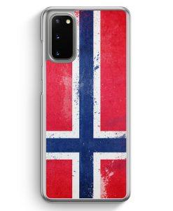 Samsung Galaxy S20 Hülle - Norwegen Grunge Norway Norge