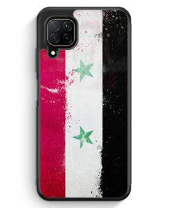 Huawei P40 lite Silikon Hülle - Syrien Grunge