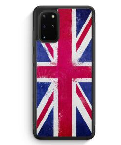Samsung Galaxy S20+ Plus Silikon Hülle - Vereinigtes Königreich Grunge Hard Flagge Flag Großbritannien Great Britain United Kingdom