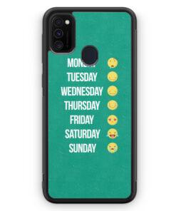 Samsung Galaxy M30s Silikon Hülle - Em Week