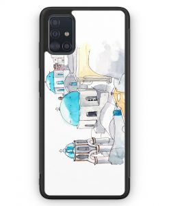 Samsung Galaxy A51 Silikon Hülle - Imerovigli Griechenland