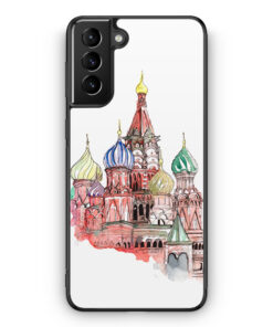 Samsung Galaxy S21 Silikon Hülle - Kremlin Palast